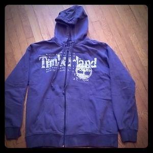 Mens Large Timberlan zip up hoodie